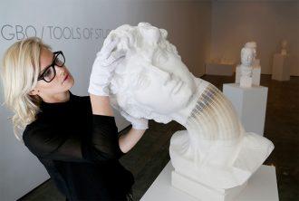 бумажная скульптура Ли Хунбо